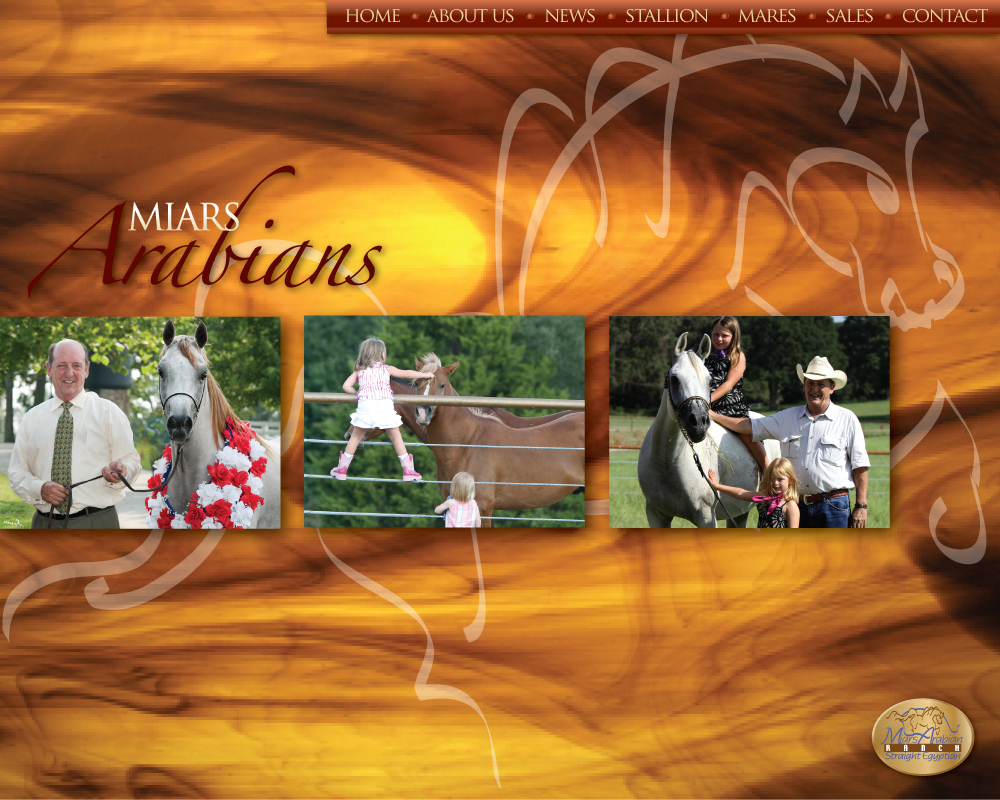 Miars Arabians - Bob and Sue Miars
